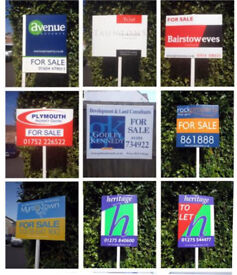ESTATE AGENT LETTING AGENTS SIGNBOARDS T BOARDS FOR SALE BOARDS