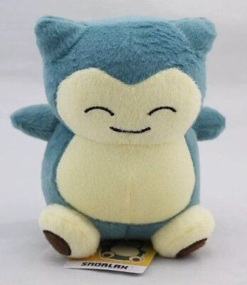 Pokemon Snorlax Plush Stuffed Animal Toy 6 Inches US Seller