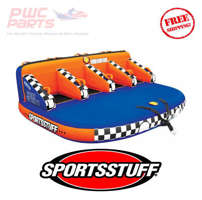 SPORTSSTUFF GREAT BIG BETTY Inflatable 4 Person Towable Tube Watersports 53-3004