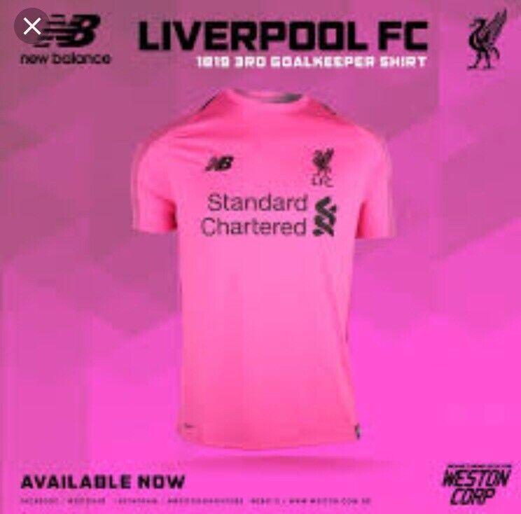 release date 8286d 4760f Liverpool Pink Goalkeeper Shirt Champions league Final | in Swanley, Kent |  Gumtree