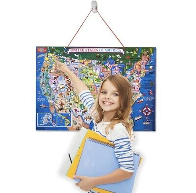 Wooden Colorful Magnetic Maps Of United States New Kids Learning Puzzle Like Magnetic Map United States