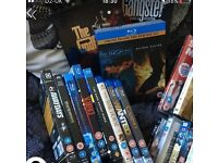 Selection of DVDs and Blu Rays for sale