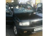 Opel frontera low miles