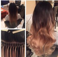TAPE IN AND KERATIN FUSION HAIR EXTENSIONS!