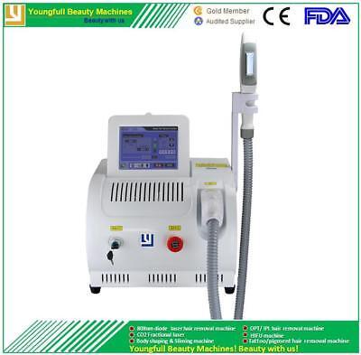 Hair removal machine OPT SHR IPL laser multifunction profess