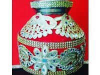 Gota Embroidered Gagaar