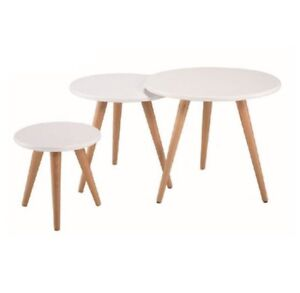 3 Piece Nest of Side Tables Bardwell Valley Rockdale Area Preview