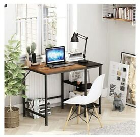Computer desk, 40inch , with shelves
