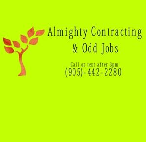 Almighty Contracting and Odd Jobs