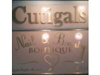 Beauty/Nail Salon For Sale or Rent