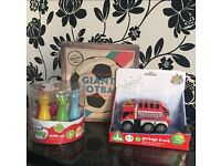BRAND NEW/Unopened Toy giant ball, skittles and car bundle!