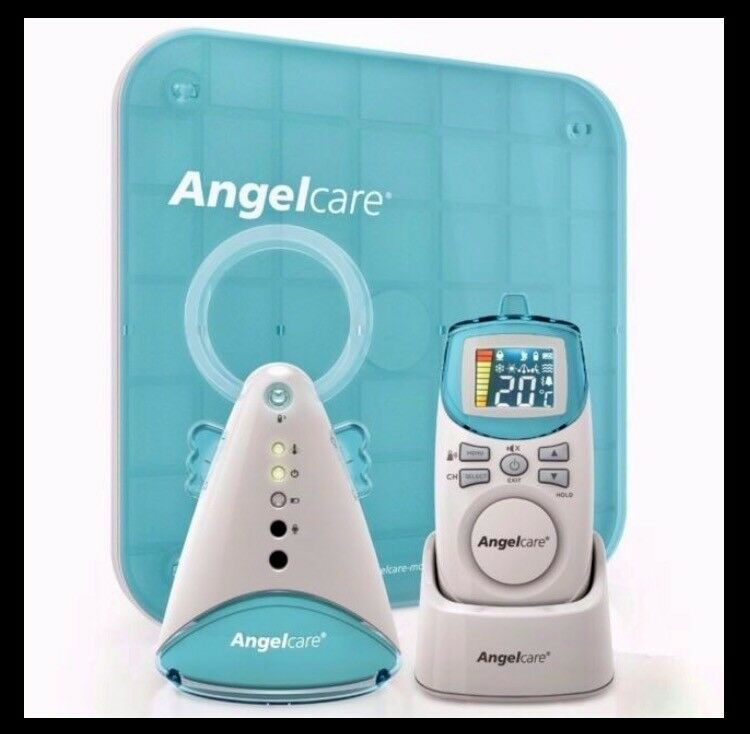 Angelcare AC401 movement and sound baby monitor. New in box, never used.