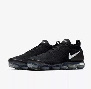 dc130f715be Nike Air Vapormax Flyknit 2.0 Size 15 Black   White NEW