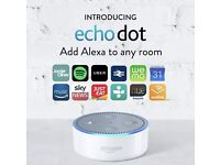 Amazon echo dot 2nd gen white. Brand new