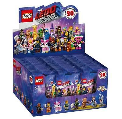 The Lego Movie 2 Minifigures Series Sealed Box Case of 60 Minifigure Packs 71023
