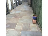 Driveway and patio pressure washing service