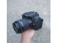 Canon 700d DSLR including 18 - 55mm lens (with charger + battery)