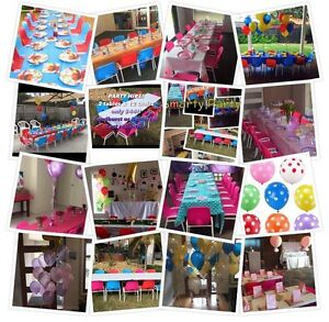 Kids Table and Chair Hire - Smarty Party Kids Rowville Knox Area Preview