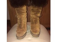 Ralph Lauren Collection Suede Boots