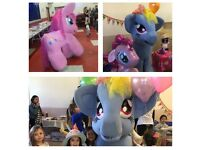 My Little Pony Mascot Party!