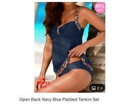 Brand new tankini bikini with tags