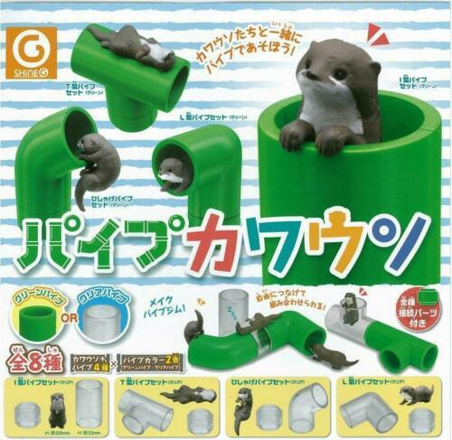 OTTER GASHAPON SHINEG CAPSULE-8 pieces