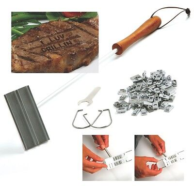Norpro 952 Deluxe Bbq Meat Branding Iron With Changeable Letters on Sale