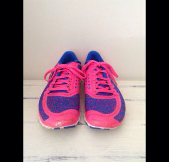 Fluoro pink and blue Nikes only $80 Carrara Gold Coast City Preview
