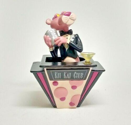 1999 The Pink Panther Kit Kat Club Cool Cat Bar Bubble Figure by Vandor, Rare