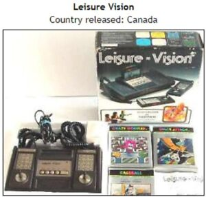 Wanted Leisurevision, games working or not