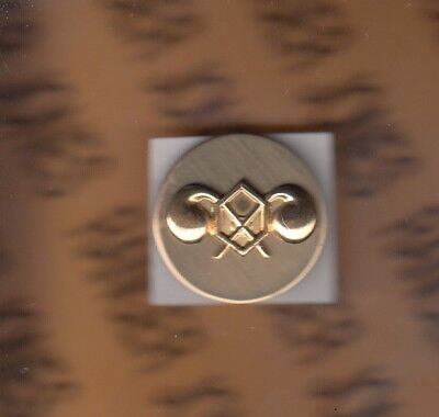 US ARMY Enlisted Chemical Branch badge clutchback c/b