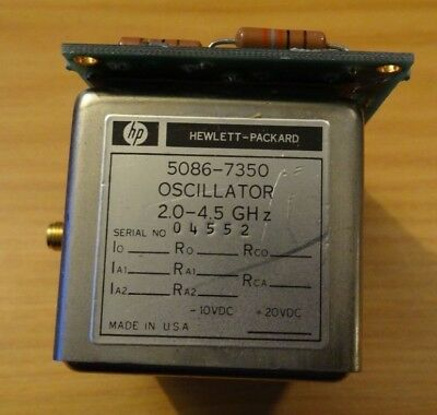 Hp Model 5086-7350 Oscillator 2.0-4.5 Ghz