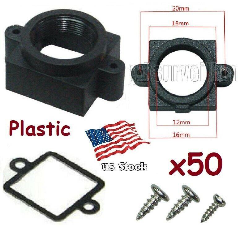 x50 Sunvision Plastic Pinhole M12 Mount Lens Holder for CCTV Board Camera (PP-3)