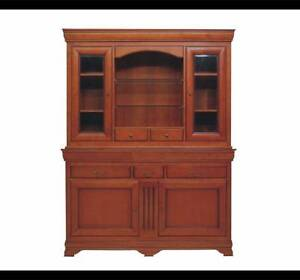 COUNTRY STYLE SOLID BUFFET & HUTCH Fairfield Fairfield Area Preview