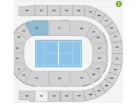 2 ATP TENNIS FINALS ROW A COURTSIDE TICKETS TONIGHT O2 ARENA BLOCK 112