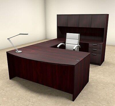 5pc U Shaped Modern Executive Office Desk Ot-sul-u15