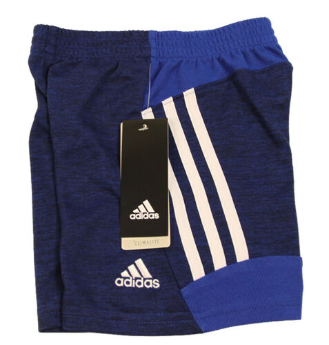 Adidas Toddler Boys Fusion Shorts in Med Blue/White, Different Sizes