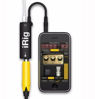 AmpliTube iRig- Guitar Amp & Effects Rig System for iPhone iPod Morley Bayswater Area Preview