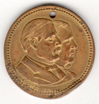 Cleveland Hendricks 1884 Broad Platform Of Good Planks Will Lead To Victory Coin