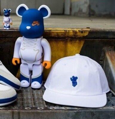 Nike Sb X Medicom H86 Verstellbar Kappe Hut Dunk Style Be@Rbrick Spielzug Weiß (Sb Spiel H)