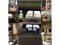 3 bed caravan for hire on the Grange Ingoldmels