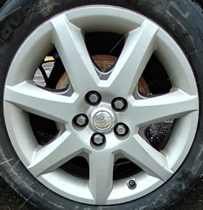 "Toyota 7 spoke grey wheel cover 16"" inches"