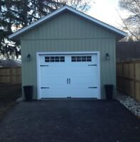 12x16 Garage Built On Site
