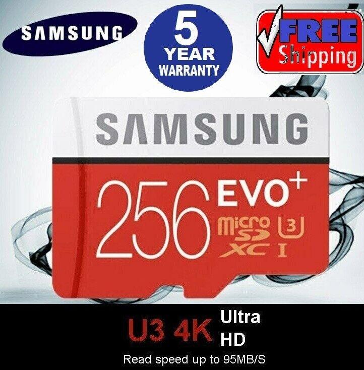 Samsung 256GB Micro SD Card EVO Plus Class 10 UHS-I MicroSDX