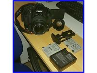 Canon EOS 600D / Rebel T3i and accesories