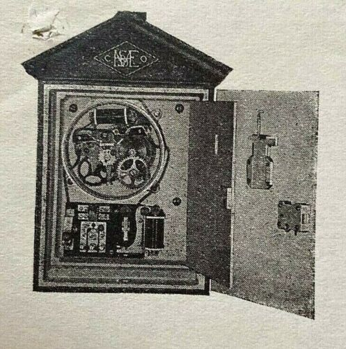 ORIGINAL - HARRINGTON-SEABERG FIRE ALARM ORDER from ELIZABETH NJ FIRE DEPT.1923