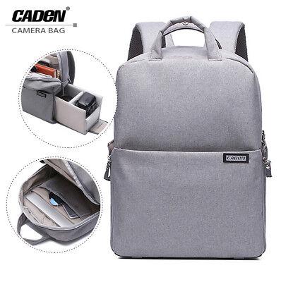CADeN Waterproof DSLR Camera Backpack Multifunction Travel Outdoor Laptop Bag