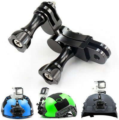 For GoPro hero6/5/4CNC Camera Black 360° Ball Joint Buckle Stand Mount Adapter