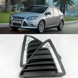Unique-Ladder-Shape-DRL-LED-Daytime-Running-Lights-for-2012-New-Ford-Focus