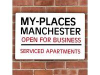 Safely Open For Business - Manchester City Centre Short Let(£25pppn)